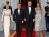 Eleganta la nivel inalt! Brigitte Macron si Melania Trump, atat de grandioase si de spectaculoase la cina de la Casa Alba - FOTO