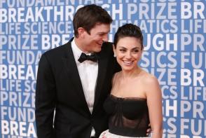Iata ce familie frumoasa au actorii Mila Kunis si Ashton Kutcher! Sunt printre cei care nu defileaza cu familia la evenimente hollywoodiene - FOTO