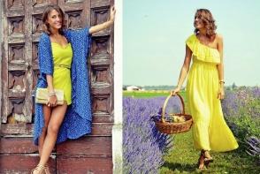 A venit momentul sa iti pregatesti garderoba pentru vara torida ce urmeaza. Top 10 rochii cu umerii la vedere - FOTO