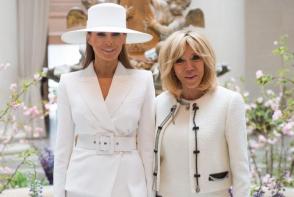 "Brigitte Macron, dezvaluiri socante despre Melania Trump: ""Nu are voie nici sa deschida un geam la Casa Alba!"". Prima doamna a Americii este captiva - FOTO"
