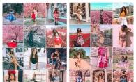 Doua moldovence extrem de populare pe Instagram, cu fotografii aproape identice. Cine pe cine copiaza?