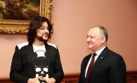 Filip Kirkorov, oaspete de onoare in casa presedintelui Igor Dodon. Vezi cum a fost primit artistul din Rusia - FOTO