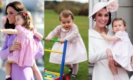 Printesa Charlotte a Marii Britanii a implinit 3 ani! Cum s-a schimbat micuta printesa de-a lungul anilor - VIDEO