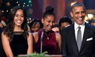 Mezina lui Barack Obama este o adolescenta rebela? Cum a fost surprinsa Sasha alaturi de cea mai cool rapperita a momentului - FOTO
