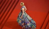 Cate Blanchett, ca o pictura in miscare la Festivalul de la Cannes. Iata cum si-a facut aparitia - FOTO