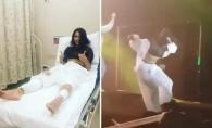 Inna s-a prabusit tot cu scena, intr-un concert la Istanbul. Cantareata a fost dusa de urgenta la spital - VIDEO