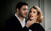 Xenia Sobchak, sarutata cu patos de sotul sau. Cei doi au fost surprinsi in ipostaze deosebit de intime - FOTO