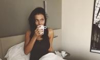 Tany Vander, in lenjerie intima, la primele ore ale diminetii. Internautii au vazut-o asa cum apare doar in fata iubitului - FOTO