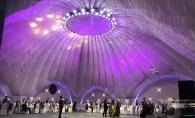 Nunta 'a la Hollywood, la terasa President! Aici poti organiza evenimente fabuloase si memorabile, pentru 600 de persoane - VIDEO