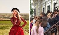 Rand enorm la targul de haine al Nataliei Gordienko. Artista a scos in vanzare peste 500 de piese vestimentare - VIDEO