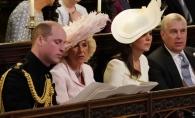 Kate Middleton si Camilla Parker, priviri taioase in timpul ceremoniei religioase! Ducesa de Cambridge si-a aratat