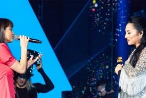 Cel mai frumos si mai emotionant duet: Andra canta impreuna cu Irina Rimes piesa