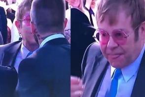 Moment penibil la nunta regala: Elton John si David Beckham s-au sarutat pe gura. Iata ce gest scarbos a facut muzicianul dupa - FOTO