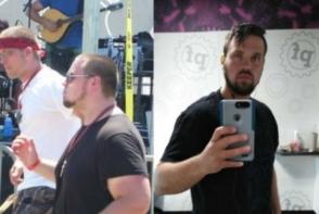 A slabit 34 de kilograme dupa ce sotia l-a parasit pentru alt barbat. Transformarea lui a uimit o lume intreaga - FOTO
