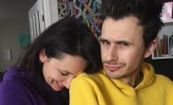 Imagini adorabile cu fetita Natei Albot si a lui Andrei Bolocan. Vezi ce mare s-a facut Magda - FOTO