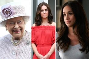 Regina Elisabeta le-a interzis lui Meghan Markle si lui Kate Middleton sa mai poarte asta. Detesta acest obiect vestimentar - FOTO