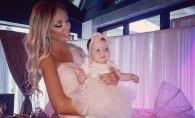Ce mare s-a facut fetita Biancai Dragusanu a lui Victor Slav! Cu cine seamana micuta - VIDEO