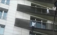 Un parinte iresponsabil! Ce facea tatal copilului salvat de eroul din Paris in timpul incidentului - VIDEO
