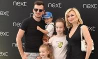 Fostul solist O-Zone, Radu Sirbu, un tata si un sot exemplu. Cum a fost surprins alaturi de sotie si cei trei copii - FOTO
