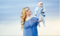 Adriana Ochisanu a venit cu fetita sa la O Seara Perfecta: