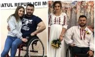 Zi importanta in viata lui Stefan Rosca. Halterofilul paralimpic s-a casatorit dupa 3 ani de relatie cu iubita sa, Nadejda - VIDEO