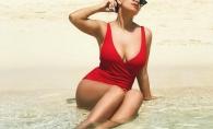 O cunoscuta bloggerita de la noi, vacanta exotica in paradisul Bahamas. Vezi cat de sexy a pozat in costum de baie - FOTO