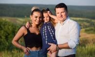 Kornelia si Marcel Stefanet, in cel mai frumos portret de familie, alaturi de fetita lor. Iata ce mare s-a facut Alexandra - FOTO