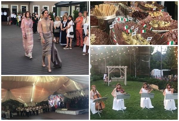 Cu prosciutto, cascaval si prezentari de moda, asa a fost sarbatorita Ziua Italiei la Chisinau! Cum s-au imbinat deliciile culinare cu lumea fashion - VIDEO