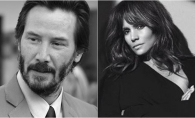 Noul cuplu hot de la Hollywood! Halle Berry il gaseste pe Keanu Reeves irezistibil - FOTO