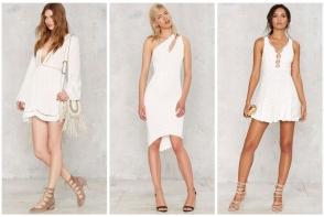 Top 10 cele mai stylish rochii albe de vara! Completeaza-ti garderoba cu noi tinute estivale - FOTO