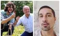 """Capsunele lui Igor Dodon au ajuns la spital la Dima Bilan. Filip Kirkorov a fost """"postasul"""" - FOTO"""