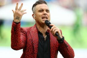 Robbie Williams, gest obscen la ceremonia de deschidere a Cupei Mondiale de Fotbal 2018. Iata ce a aratat - FOTO