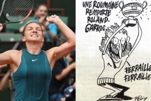 Simona Halep, prima reactie dupa caricatura celor de la