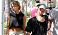 Justin Bieber, mai indragostit ca oricand alaturi de noua sa iubita. Hailey Baldwin i-a sucit mintile artistului - VIDEO