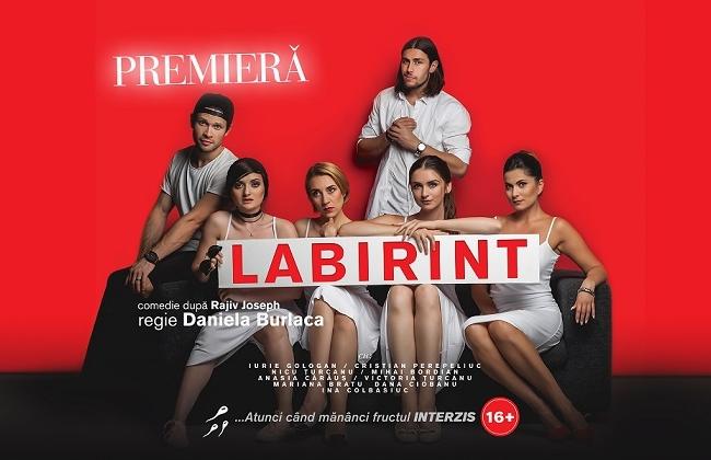 "Un nou spectacol ce imbina comedia si dramaturgia este in proces de pregatire la Geneza Art. ""Labirint"", o premiera incendiara - VIDEO"