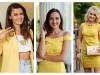 Soarele, in toate nuantele sale: tinute galbene, aurii si rosii, la Summer Party! Iata cele mai reusite outfituri - FOTO