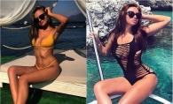 Doua Miss-uri de la noi fac furori pe o plaja din Turcia. Vezi imagini hot cu Anastasia Fotachi si Adela Prisacari - FOTO