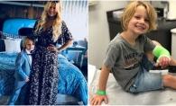 Jessica Simpson, desfiintata pe Instagram de parinti ingrijorati. Afla ce i-a facut fiului ei - VIDEO