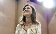 Valentina Nafornita, ca o adevarata zana, in creatiile Valentinei Vidrascu. Solista a emotionat publicul pana la lacrimi, la