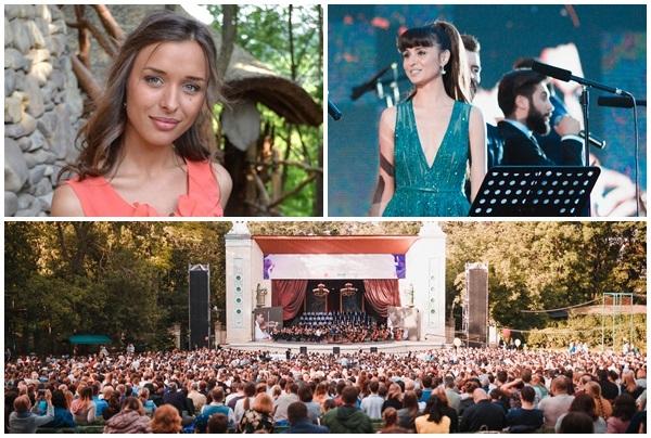 "Lidia Nafornita: ""Piesa este in memoria tatalui..."" Ce moment emotionant a trait soprana Valentina Nafornita, pe scena de la ""O seara in parc"" - VIDEO"
