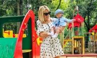 """Natalia Gordienko, despre baietelul sau, Cristi: """"E linistit, insa, uneori arata caracterul tatalui."""" - VIDEO"""
