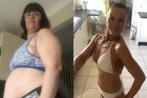 A slabit 30 de kilograme in doua luni, cu o dieta de detoxifiere. Cum arata bunicuta acum - FOTO