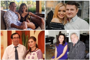Dragostea nu are limite! Cupluri celebre din showbizul moldovenesc, pentru care diferenta de varsta nu a fost o bariera - FOTO