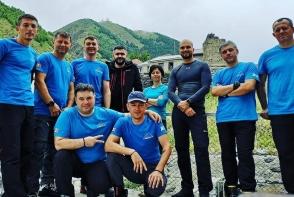 10 moldoveni, in cautarea unor aventuri! Au cucerit Kilimanjaro, iar acum si-au propus sa ajunga pe muntii Kazbek si Elbrus - VIDEO