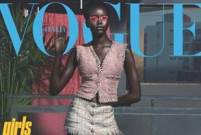Din tabara de refugiati, pe catwalk la Paris! O tanara din Sudan uimeste lumea modei - FOTO