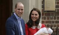 Kate Middleton si Printul William si-au increstinat fiul. Vezi niste imagini superbe de la botezul Printului Louis - FOTO
