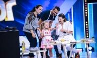 "Gabriela Leahu, micuta bucatareasa de 4 ani din Glodeni, i-a lasat cu gura cascata pe juratii de la Next Star: ""Nu cred, cat de atent taie cu cutitul!"" - VIDEO"