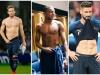 Jucatorii echipei nationale a Frantei si Croatiei, fotografiati la bustul gol. Imagini hot cu cei mai ravniti barbati ai momentului din lumea fotbalului - FOTO