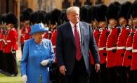 Donald Trump, impresionat de regina Elisabeta. Ce i-a spus suverana Marii Britanii cand l-a vazut prima oara - FOTO