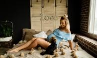 Putine gravide s-ar incumeta sa faca asta! Elena Ozun isi lucreaza muschii cu haltere, in ultimul trimestru de sarcina - VIDEO
